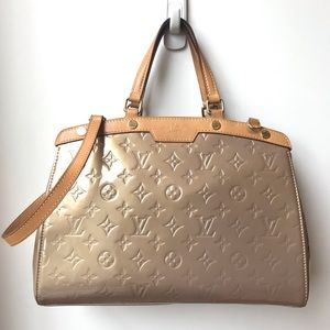Louis Vuitton brea in monogram vernis MM